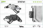 Ruitenwissermotor Valeo 579741