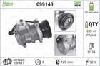 Airco compressor Valeo 699148
