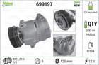 Airco compressor Valeo 699197