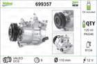 Airco compressor Valeo 699357