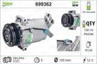 Airco compressor Valeo 699362
