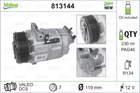 Airco compressor Valeo 813144