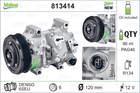 Airco compressor Valeo 813414