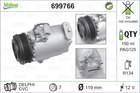 Airco compressor Valeo 699766