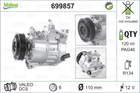Airco compressor Valeo 699857