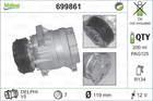 Airco compressor Valeo 699861