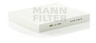 Mann-filter Interieurfilter CU 2545