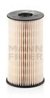 Brandstoffilter Mann-filter pu825x