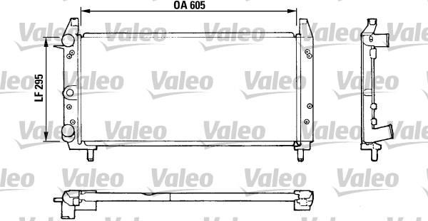 Valeo Radiateur 810924