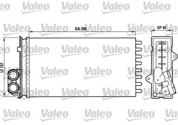 Valeo Kachelradiateur 812014