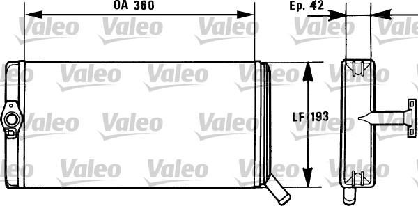 Valeo Kachelradiateur 812026