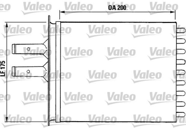 Valeo Kachelradiateur 812081
