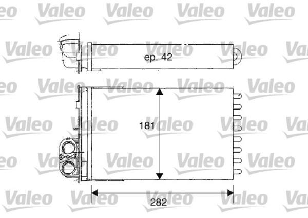 Valeo Kachelradiateur 812181