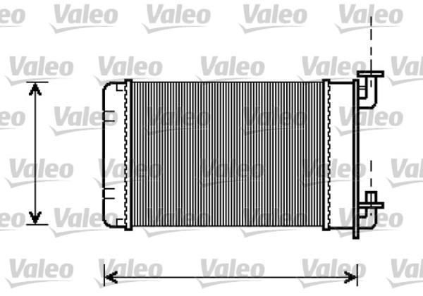 Valeo Kachelradiateur 812238