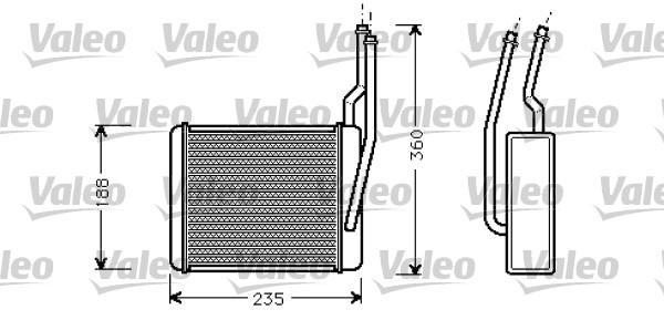 Valeo Kachelradiateur 812274