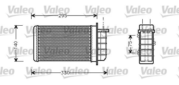 Valeo Kachelradiateur 812281