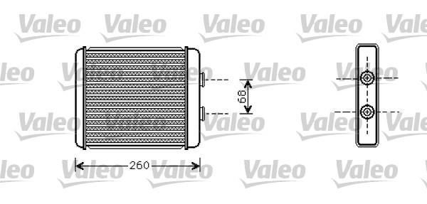 Valeo Kachelradiateur 812284