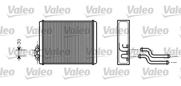 Valeo Kachelradiateur 812326
