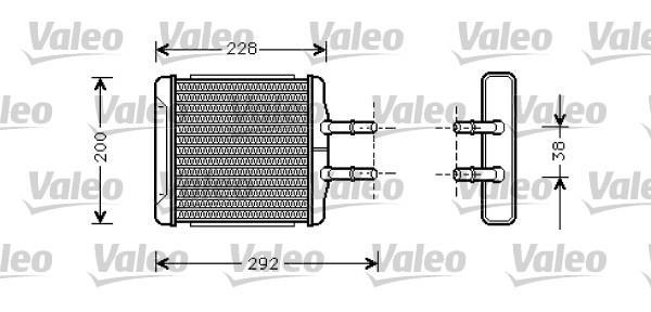 Valeo Kachelradiateur 812335