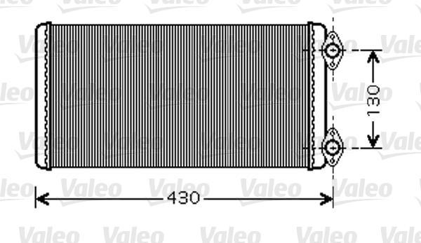 Valeo Kachelradiateur 812346