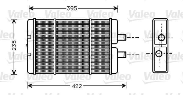 Valeo Kachelradiateur 812353