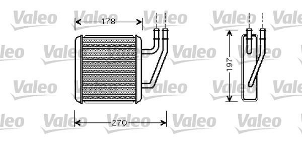 Valeo Kachelradiateur 812361