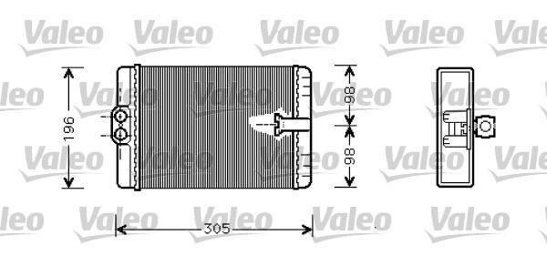 Valeo Kachelradiateur 812366