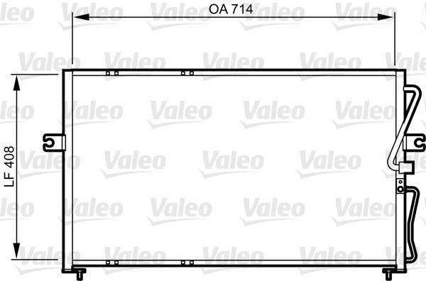 Valeo Airco condensor 814270