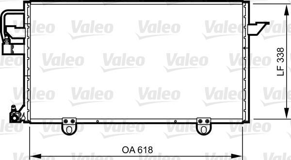 Valeo Airco condensor 814286