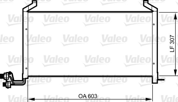 Valeo Airco condensor 814317