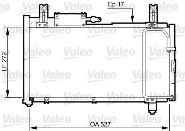 Valeo Airco condensor 814327