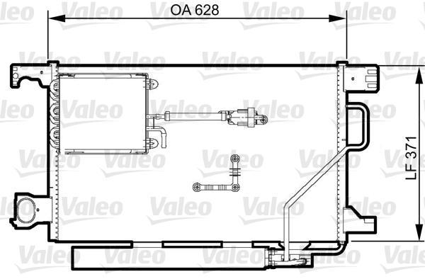Valeo Airco condensor 814368