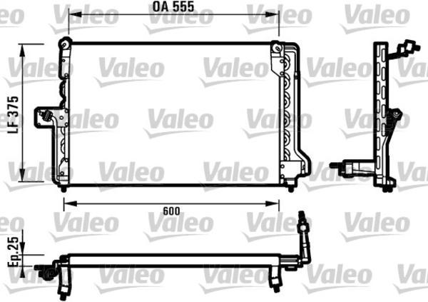 Valeo Airco condensor 816903