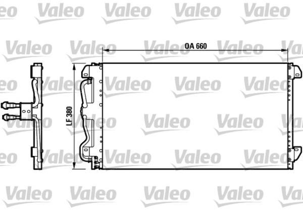 Valeo Airco condensor 816991