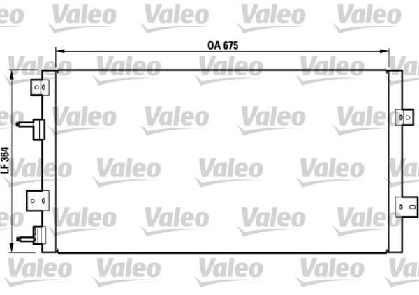 Valeo Airco condensor 817075