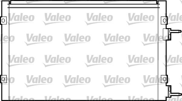 Valeo Airco condensor 817445