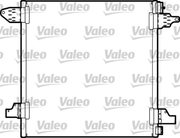 Valeo Airco condensor 817446