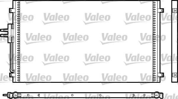 Valeo Airco condensor 817477