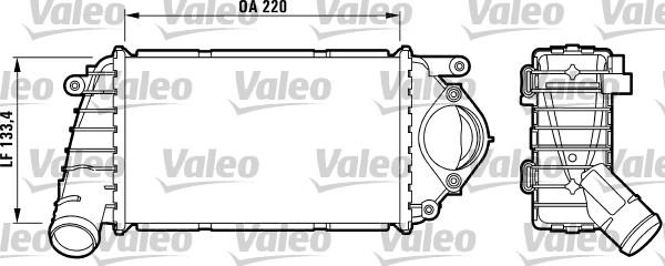 Valeo Interkoeler 817486