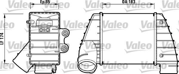Valeo Interkoeler 817487
