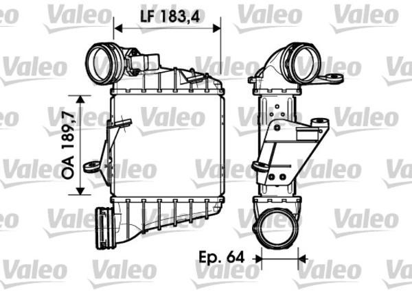 Valeo Interkoeler 817558