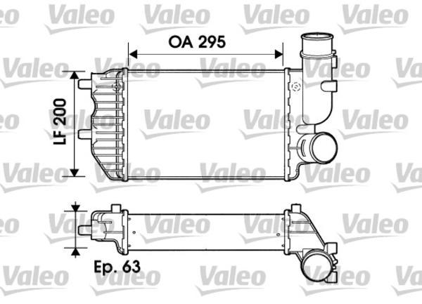 Valeo Interkoeler 817632