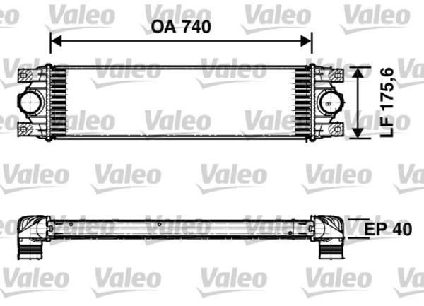 Valeo Interkoeler 817637