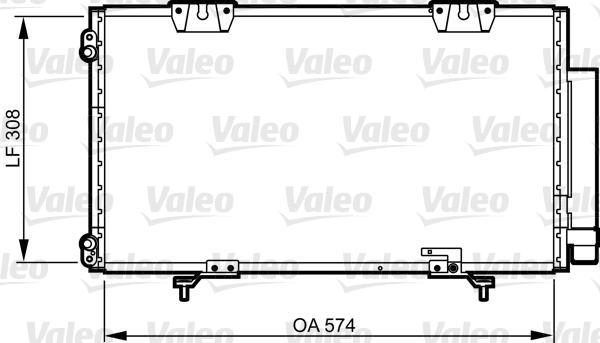 Valeo Airco condensor 817802