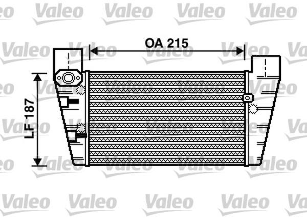 Valeo Interkoeler 817867