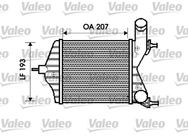 Valeo Interkoeler 817882