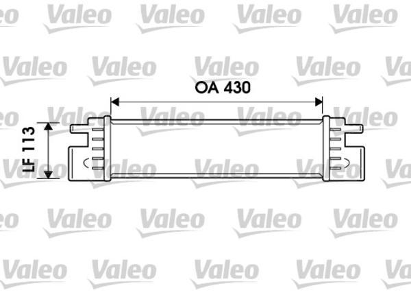 Valeo Interkoeler 817903