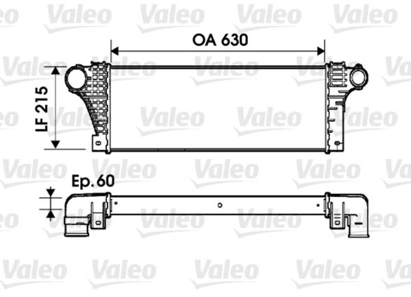 Valeo Interkoeler 817941