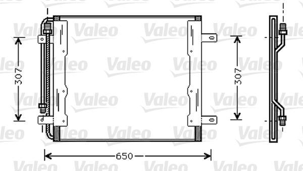 Valeo Airco condensor 818035
