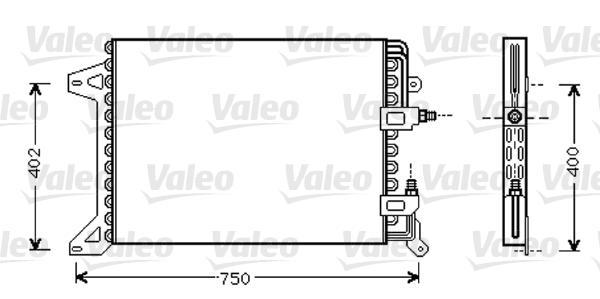 Valeo Airco condensor 818038